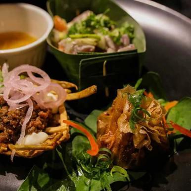 Bird Pinngoy Filipino Cuisine served at Wild Restaurants Kitchen Takeover Night