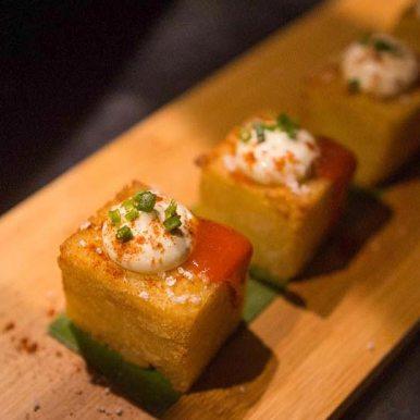 Luis Mas Spanish Dish served at Wild Restaurants Kitchen Takeover Night