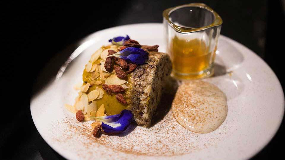 Vegan Dessert by Ram Pastelero for Wild Restaurants Kitchen Takeover Night