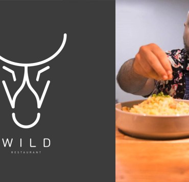 Wild Restaurant Logo and chef Andrew Malarky Siargao Philippines