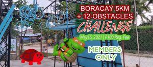 Boracay 5k + 12 Obstacles Challenge @ Boracay Ninja Arena