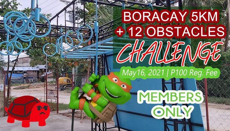 Boracay 5k + 12 Obstacles Challenge 16 May 2021 Boracay Philippines