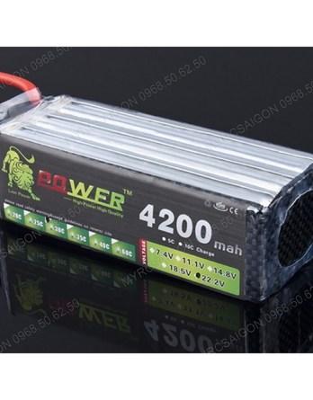 Pin Lipo Lion Power 22.2V 4200MAH