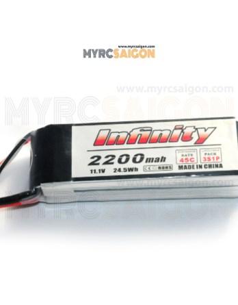 Pin Lipo Infinity 3S 2200mah 45C
