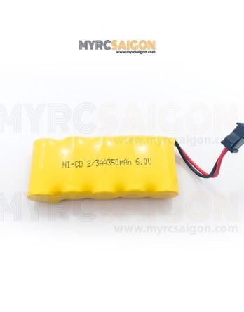 Pin Ni-Cd 6.0V 350mah