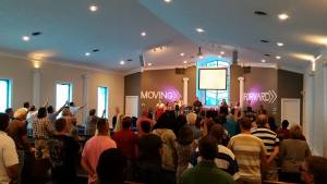 Real Life Community Church Worship Service In Downtown Richmond KY