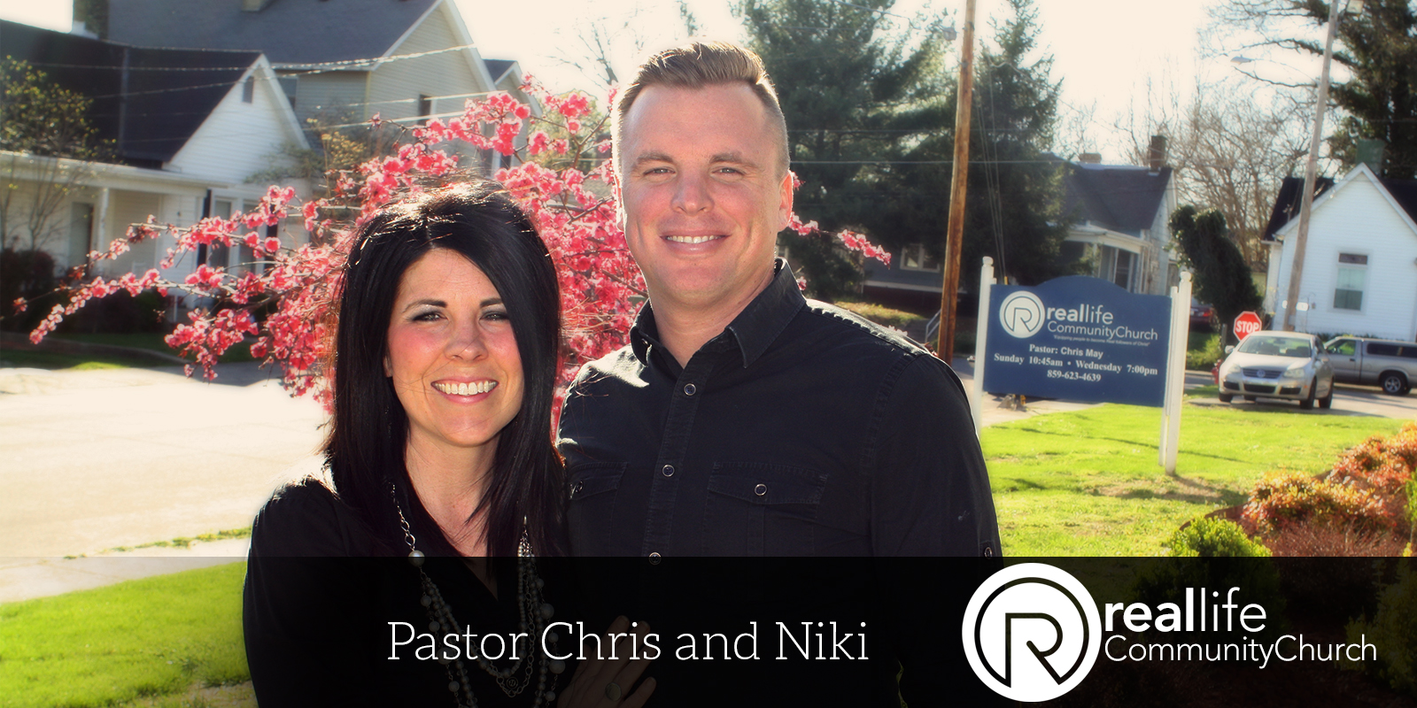 Lead Pastor and wife - Pastor Chris May and Niki May