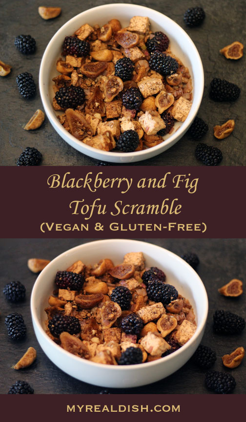 blackberry & fig Scramble