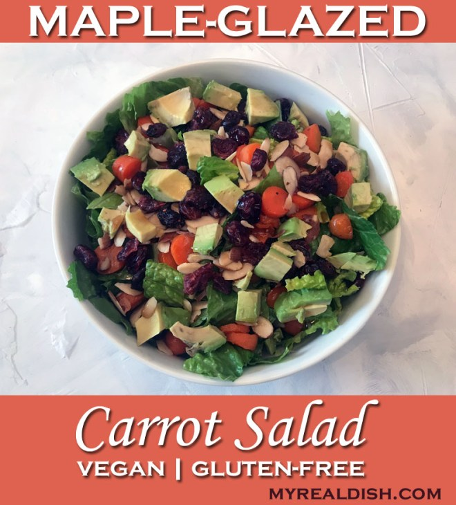 MAPLE GLAZED CARROT SALAD