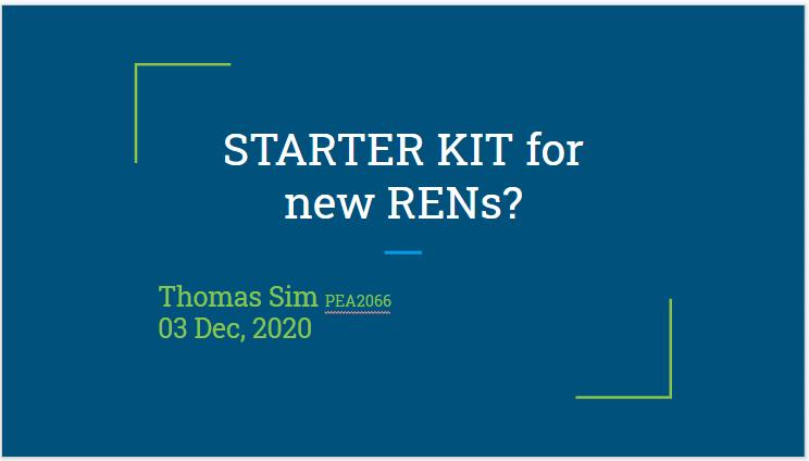 023 Starter Kit REN