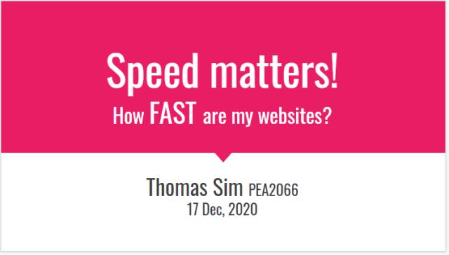 024 Speed Matters