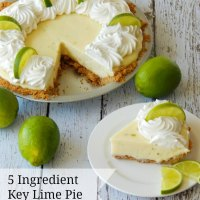 5 Ingredient Key Lime Pie