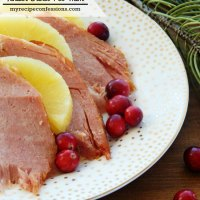 Three Ingredient Tender Crock Pot Ham