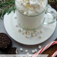 Creamy White Hot Chocolate