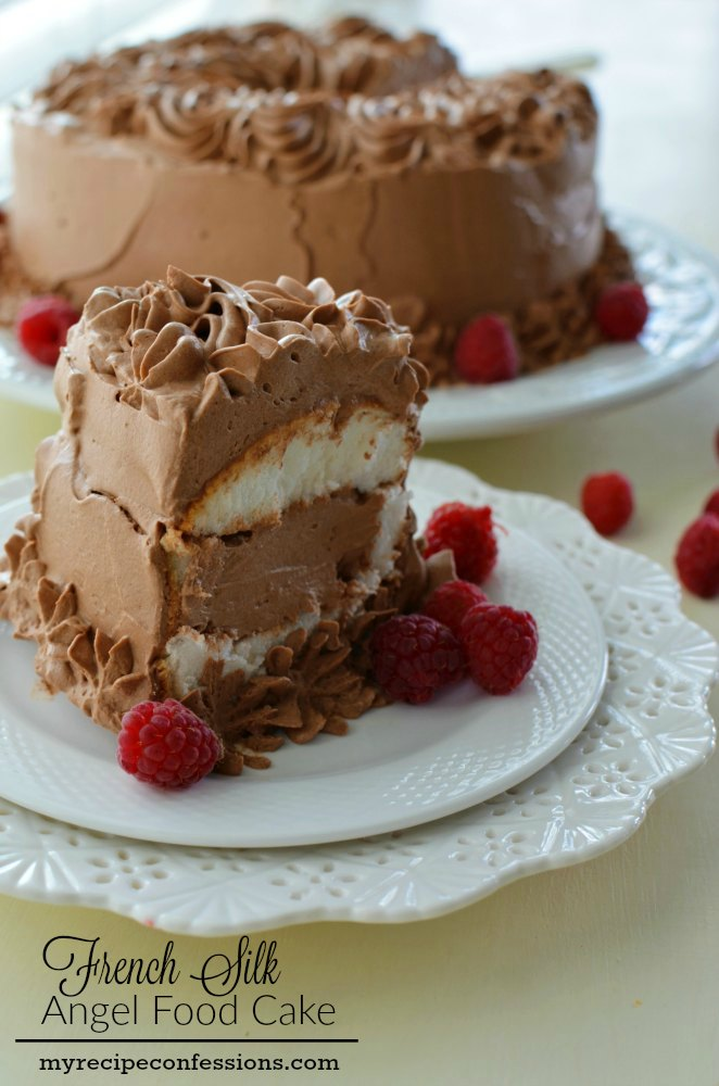 French Silk Angel Food Cake My Recipe Confessions