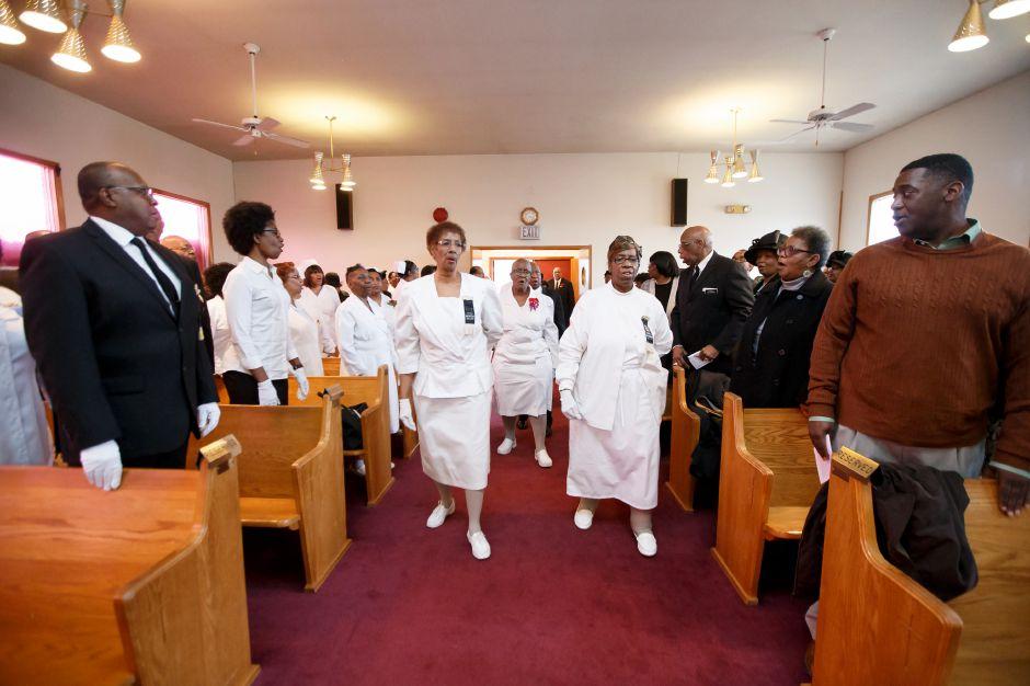 Church Ushers Honored During Meriden Ceremony