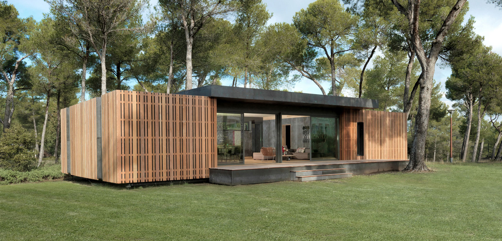 Green Living Homes Made Of Innovative Materials
