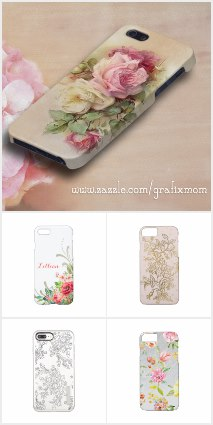 Elegant Floral iPhone Cases