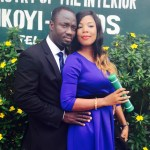 Titilayo Married her Sweetheart Edmond on the 25th of February 2015. Happy married life . More pics from the wedding...