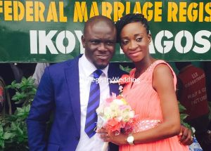Tinuola and Babatunde Ogundele legalize their union on the 30th of September 2015.