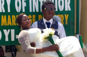 Funmilola and Adeyemi get married on the 30th of June 2016 at Ikoyi Registry.