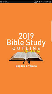 Anglican Church Of Nigeria Weekly Sunday School/ Bible Studies Manual For May 5, 2019 : TOPIC - Sustenance Principles.