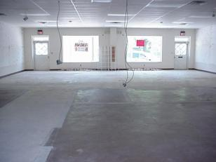 From back of store toward front