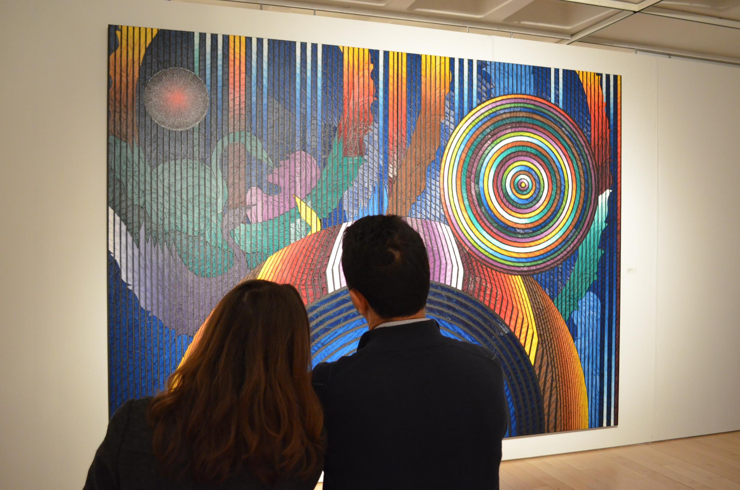 'Doğudan Batıya Yolculuk' sergisi New York'ta bir numara seçildi