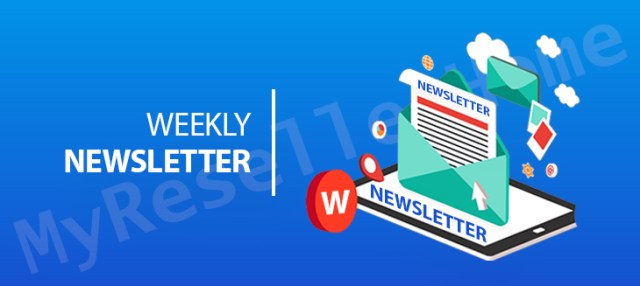 create a weekly newsletter. Send your customers engaging and educational emails regularly.