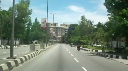 The streets of Ikoyi (where is everyone?)