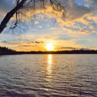 Vårhajk vid Toftsjön