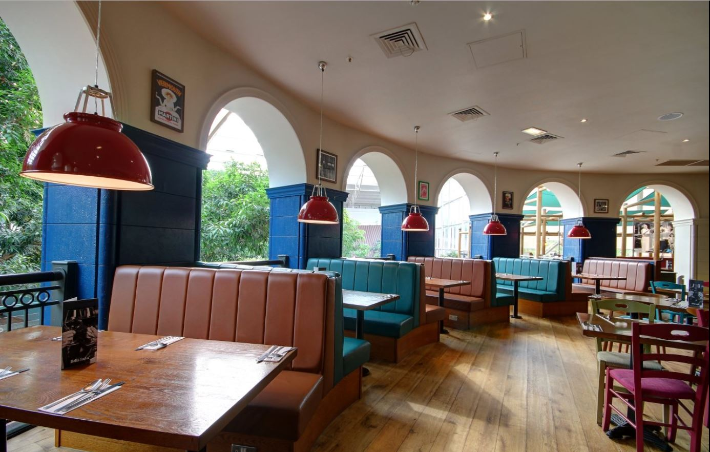 Bella Italia Whinfell Centre Parcs Penrith Myriad Contracts