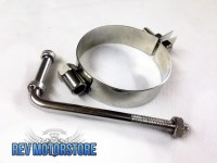 "Universal Exhaust Round Band Hanger 3.5"" Stainless Steel ..."