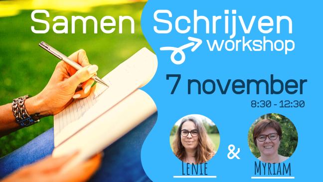 Workshop Samen Schrijven 7 november