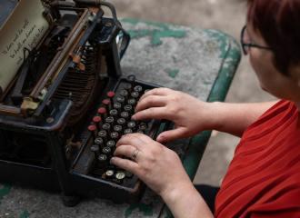 Gewone tekst schrijven en herschrijven