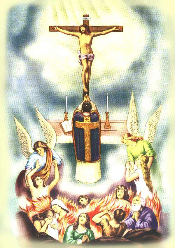 Priere Pour Les Ames Du Purgatoire : priere, purgatoire, Défunts, Toutes, âmes, Purgatoire