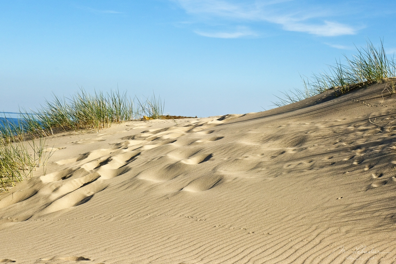 Nida Dunes in Lithuania