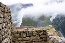 morning clouds and mist on the Machu Picchu