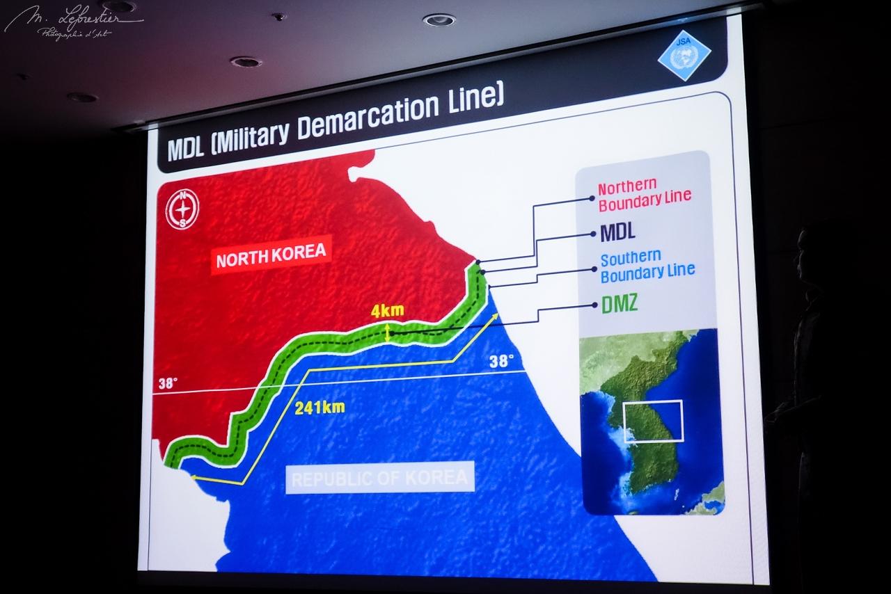 DML Military Demarcation line