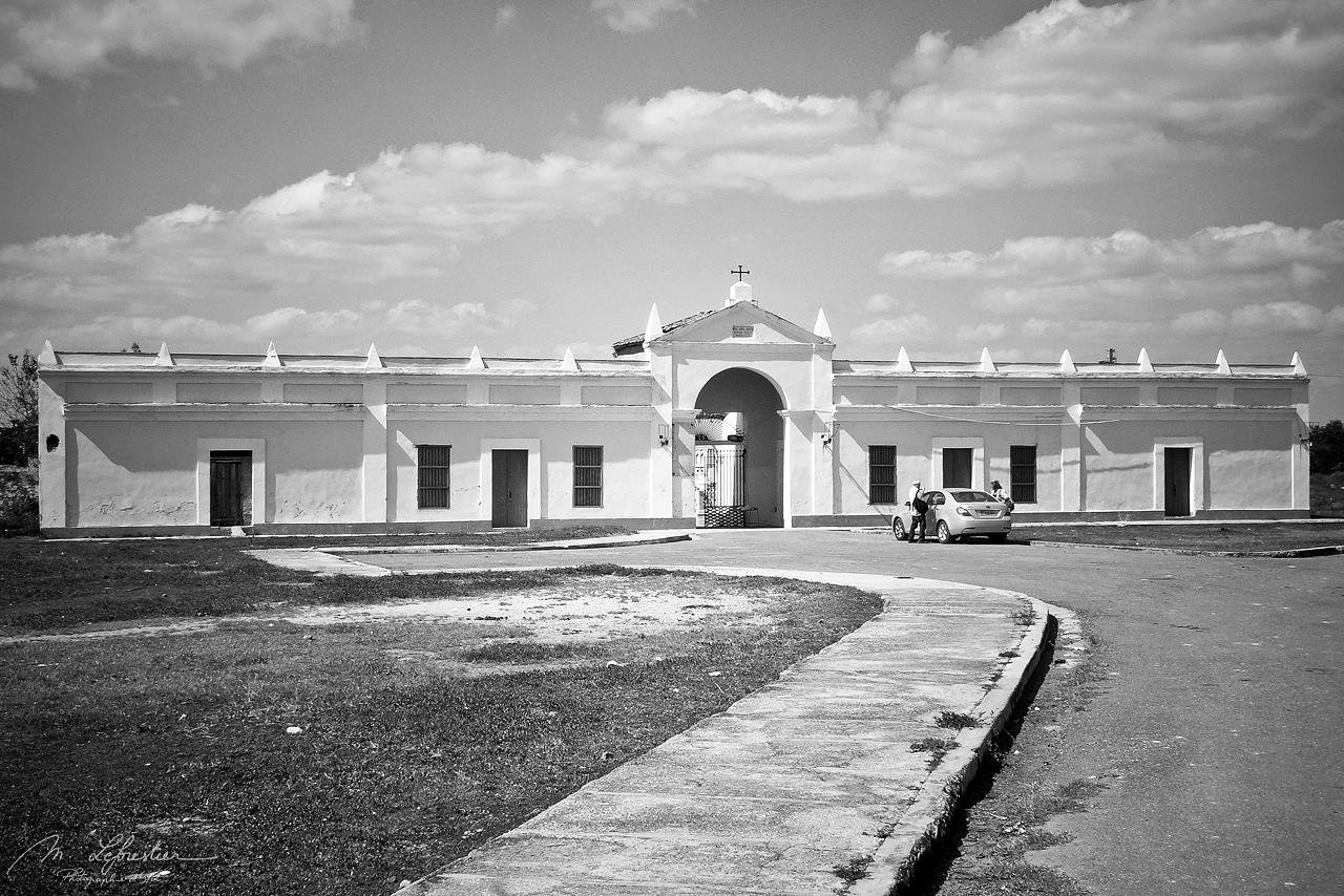 entrance of the Queen Cemetery in Cienfuegos Cuba, established in 1837