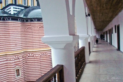 inside the Rila Monastery Bulgaria orthodox