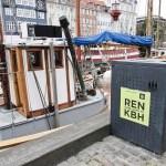 a bin in Copenhagen Denmark