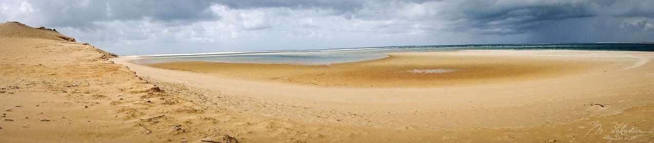 panoramic view of Bazaruto island in the Bazaruto archipelago in Mozambique
