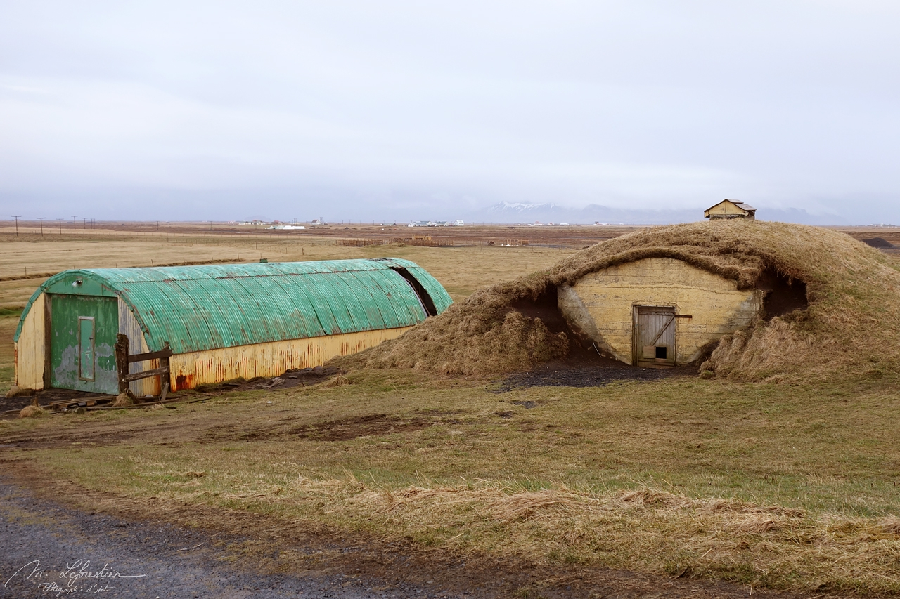 Bergþórshvoll, location of the Njals farm that was burnt down in 1011 in Iceland
