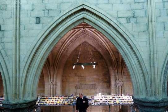 bookstore Maastricht in church