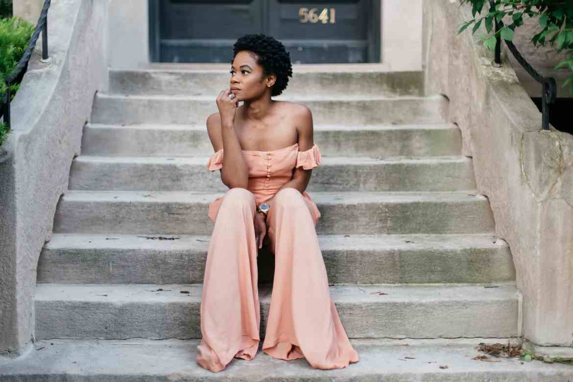 Peachy pocket strapless jumpsuit 6
