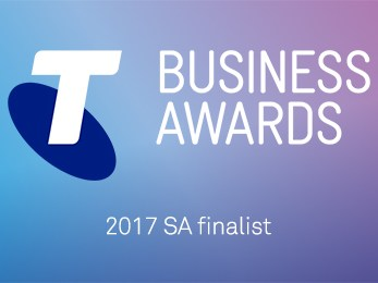 Myriota finalist in the 2017 Telstra South Australian Business Awards