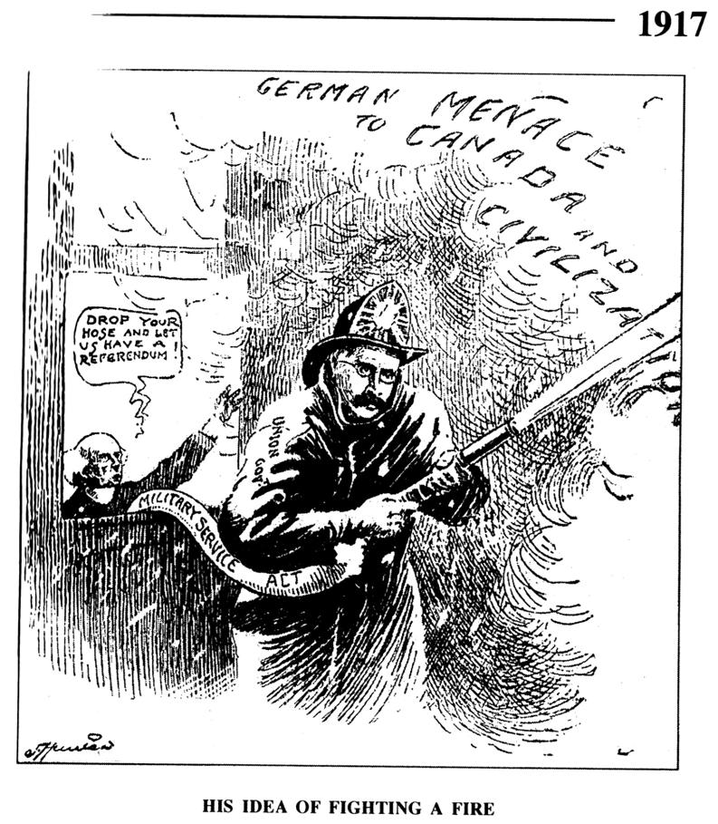WWI Conscription