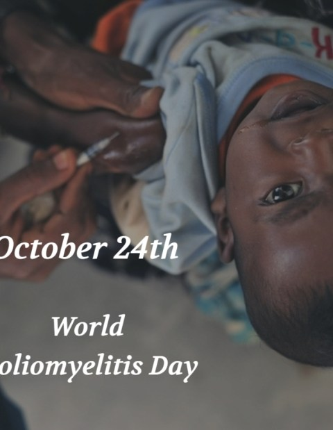 October 24th - World Polio Day