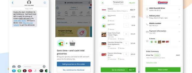 Instacart запускает доставку лекарств по рецепту через Costco — Обзор Geek